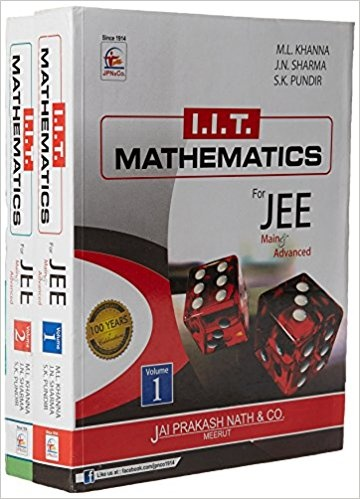 Where can I download a PDF of M L  Khanna Mathematics for the IIT