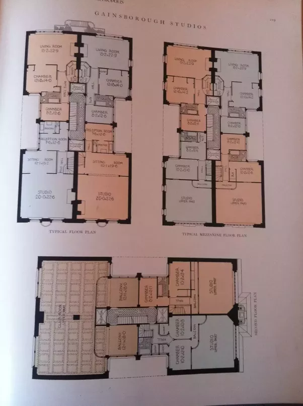 Is there a public database of floorplans of nyc apartment for Apartment floor plans new york