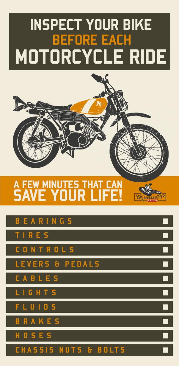 Motorcycle inspection | Braaaaaapp
