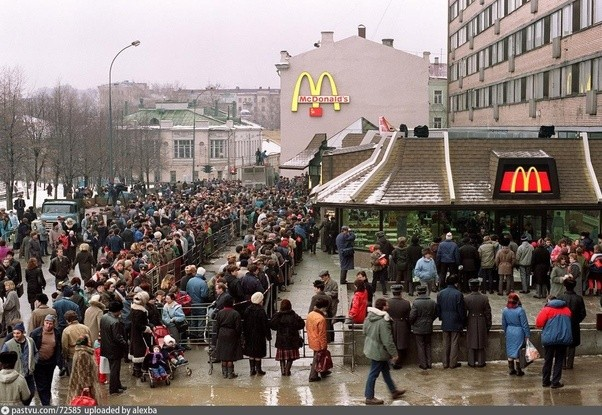 mcdonalds in moscow and coke in Unhappy new year for coca-cola as it upsets first russia, then ukraine  the ukrainian black sea peninsula was annexed by moscow in march 2014 and remains a trigger issue in the russian.