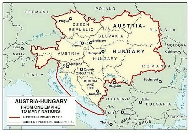 What are the short term and long term causes of world war 1 quora as you can see this empire covered a lot more than austria and hungary before wwi it had been riddled with social tensions and separatists from the gumiabroncs Choice Image