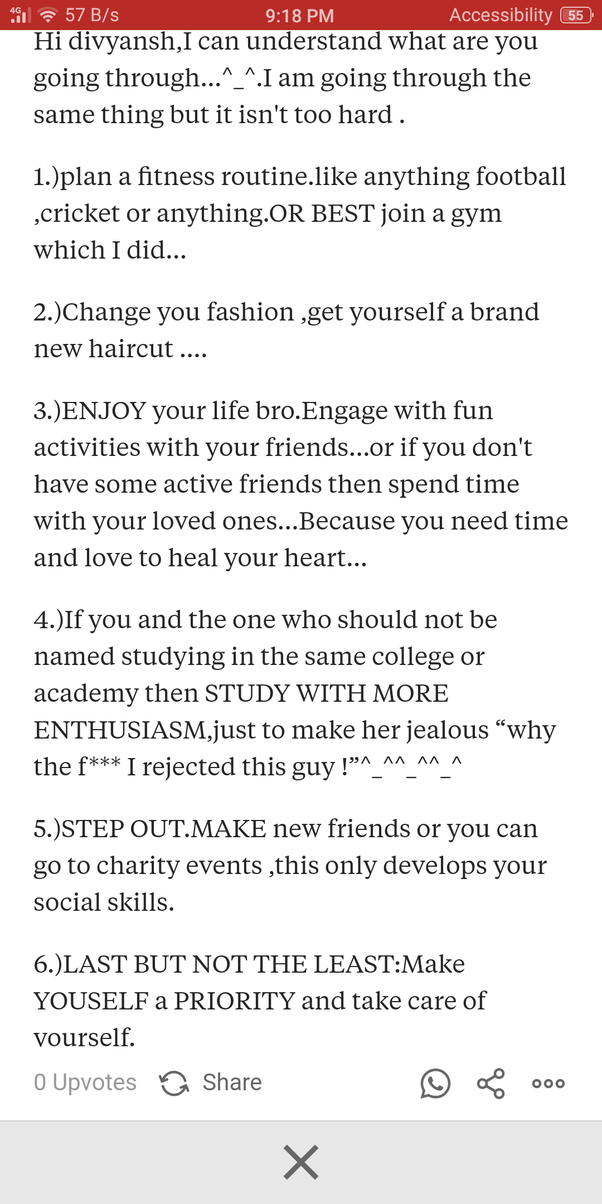 What Should I Do To Forget The Person I Love Quora