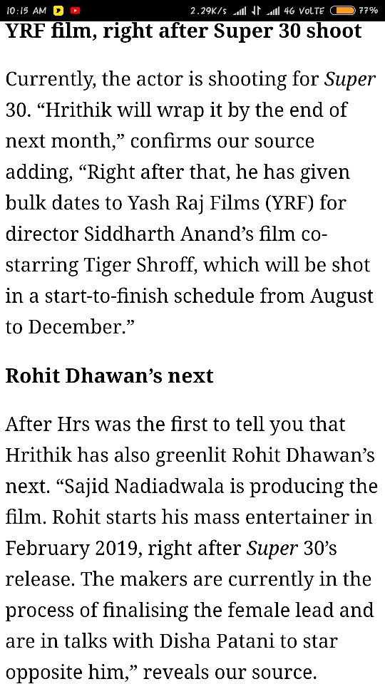 Why does Hrithik Roshan do fewer movies? - Quora