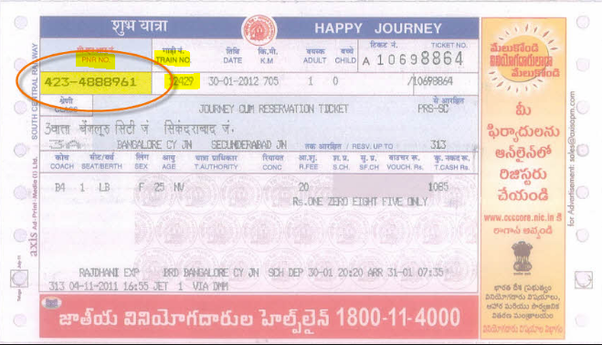 How to cancel a ticket purchased at railway counter, without going