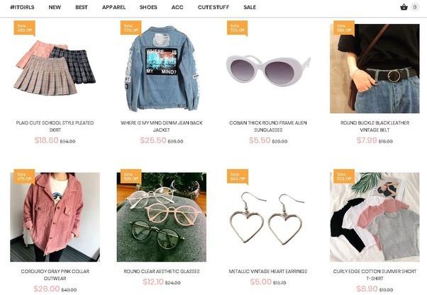 Asian Fashion Website