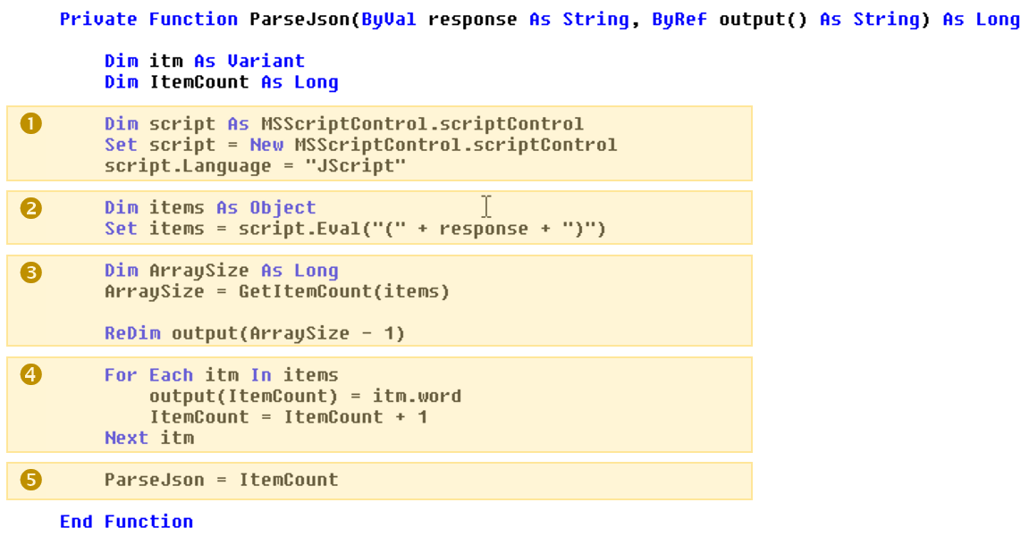 Is there a good library for parsing json with Excel VBA? - Quora