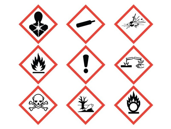 What is the importance of the chemical safety signs and