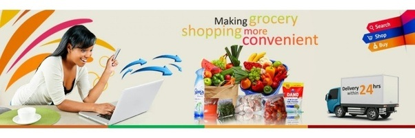 Online grocery shopping sites