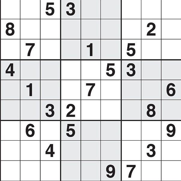 How to solve a Sudoku puzzle if all of the remaining empty