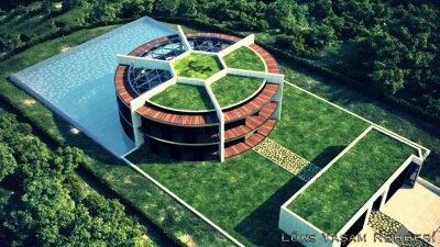 does lionel messi really own a football stadium shaped home in barcelona quora. Black Bedroom Furniture Sets. Home Design Ideas