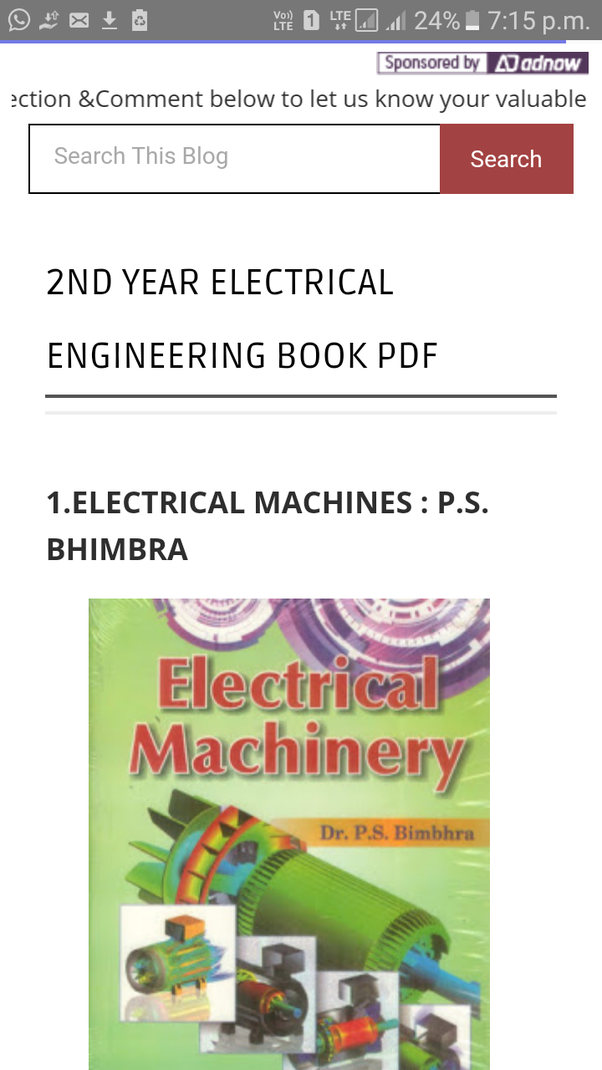 Where can i get electronics engineering books in pdf format quora click on the section you want to go and start downloading electrical engineering books free you can demand various ebooks just by commenting there fandeluxe Choice Image