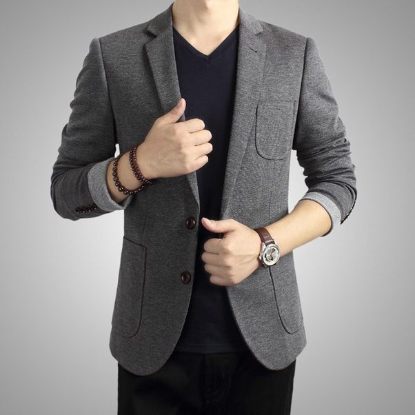 Will grey coat over a royal blue shirt with black jeans be ...