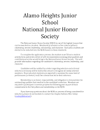 National honor society essay ideas