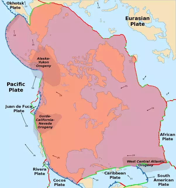 Which region of both americas is prone to earthquakes quora these maps collected from wikipedia north american plate wikipedia and south american plate wikipedia show the tectonics of north america and south gumiabroncs Choice Image