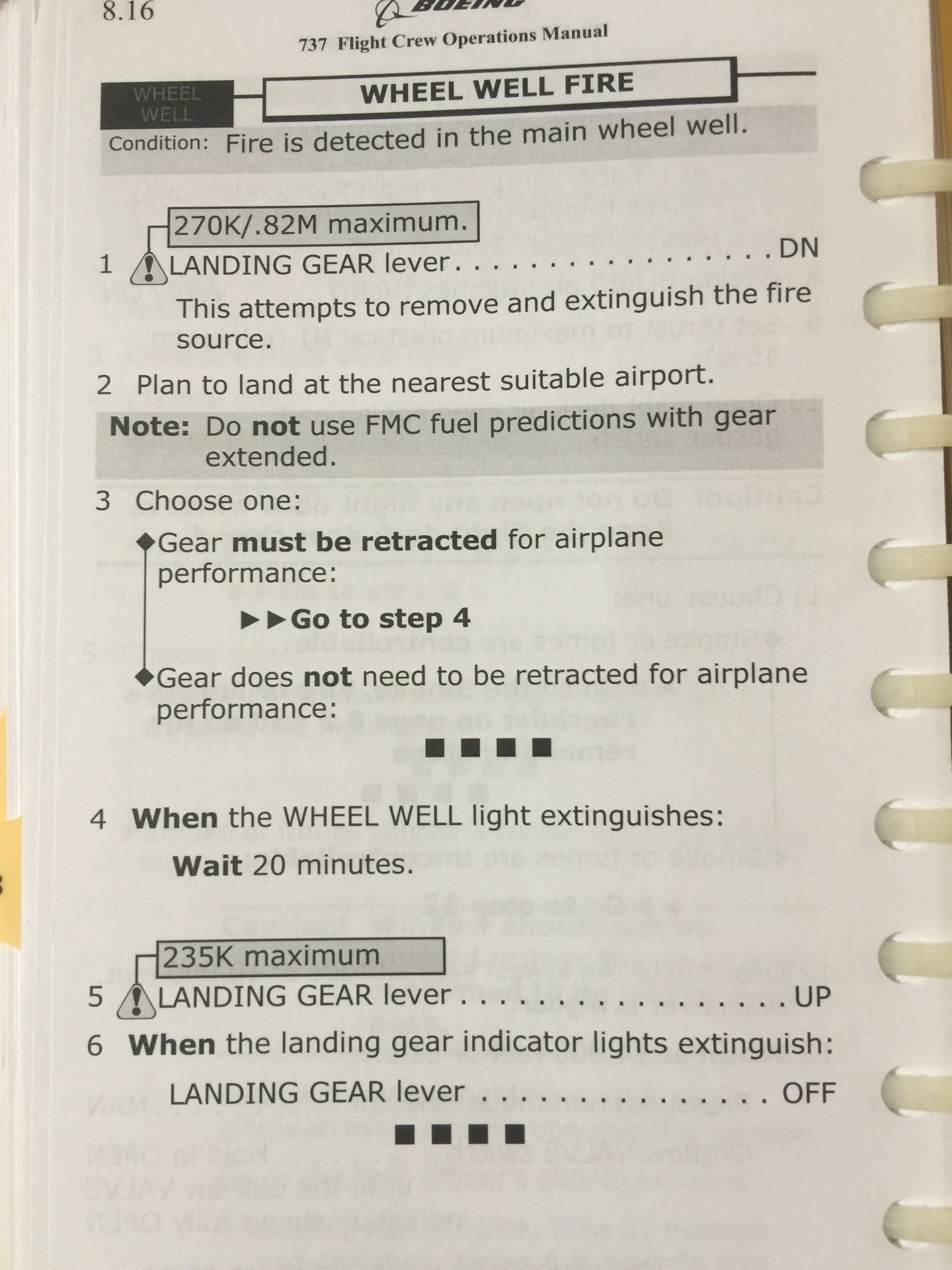 What do airline pilot checklists look like? - Quora