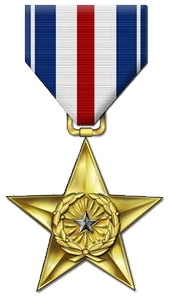 What is the difference between a silver star and a bronze