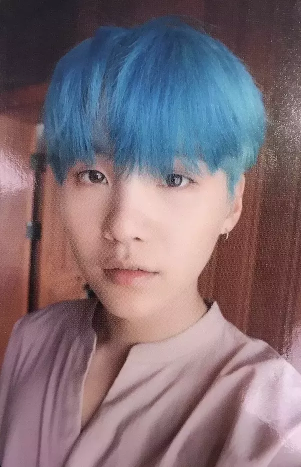 What Is The Name Of Blue Hair BTS