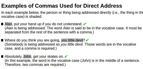 Commas: Can be Presently there Strong Rules or possibly Simply just Guidelines?