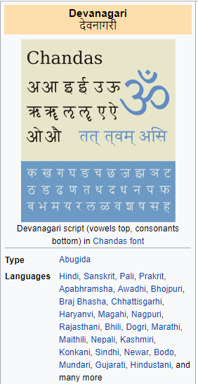 What are the advantages and disadvantages of the Devanagari