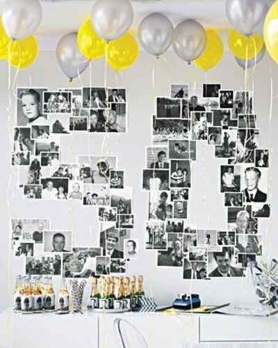 50th Number Backdrop You Can Create A For Birthday Party Balloon Chandelier Decorate The Room