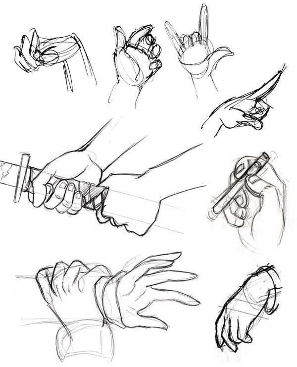 How to draw hands easily - Quora