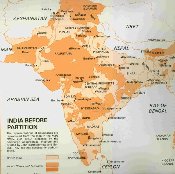reason behind india pakistan partition
