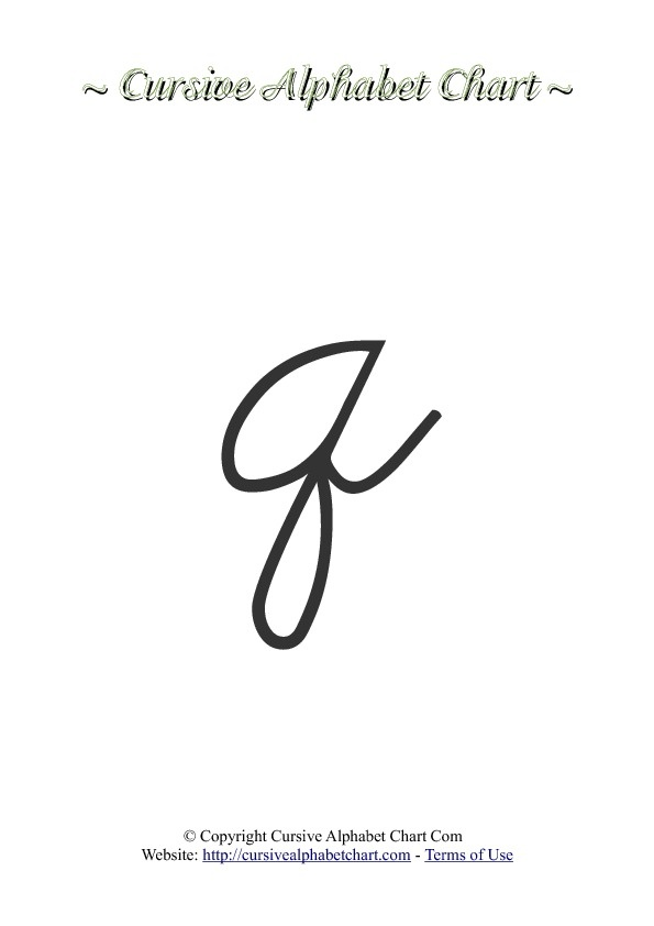 How to write a 'q' in cursive - Quora