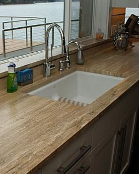 Tiles Costing From 2 To 4 Per Square Foot Have Many Deficiencies And Color Variations Travertine Flooring In Columbus Will Cost