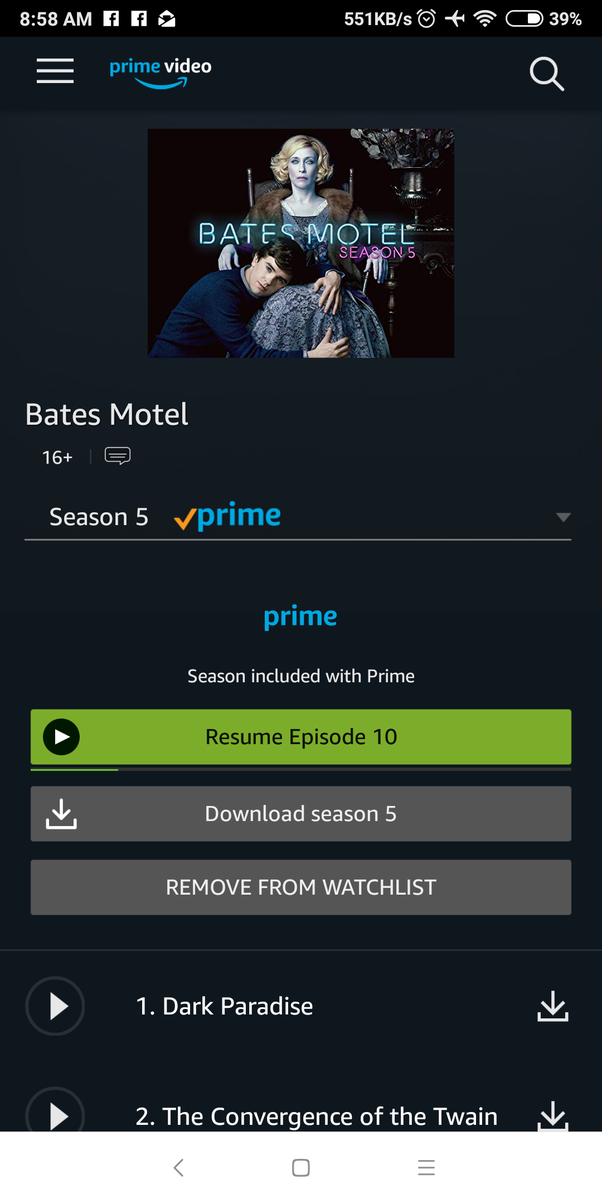 Why is season 5 of Bates Motel not on Netflix? - Quora