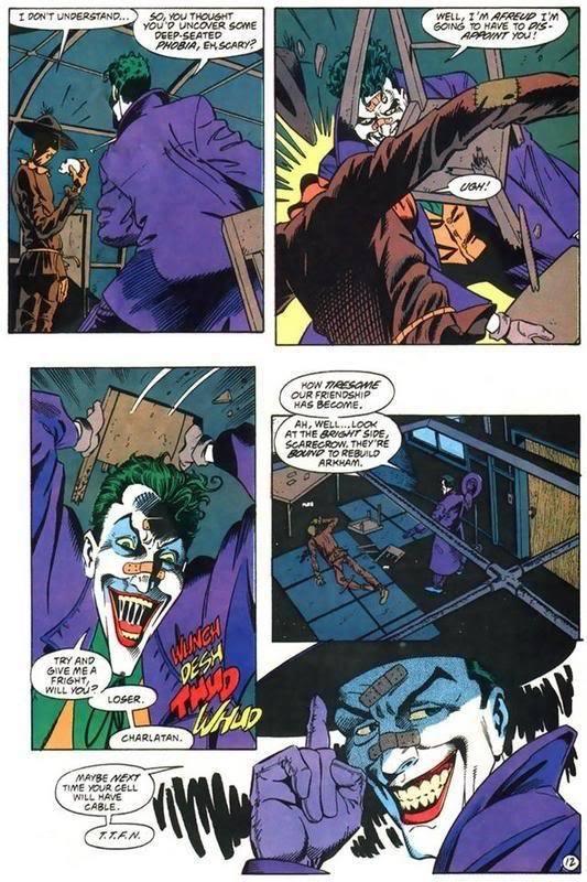How is Joker immune to Scarecrow's fear toxin? - Quora