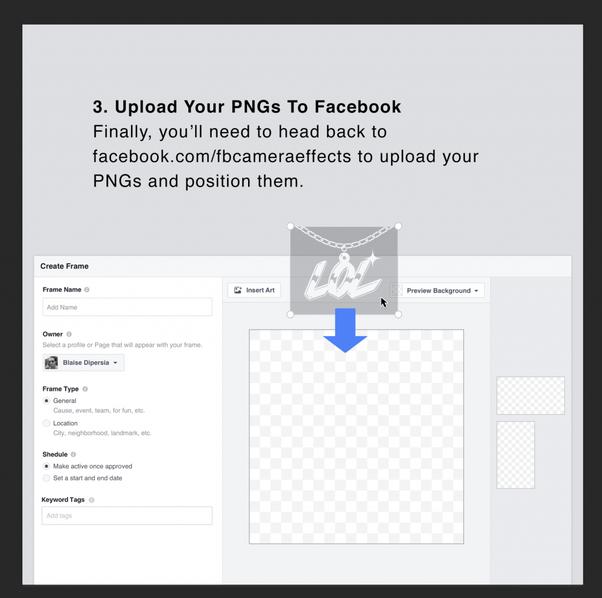 How to create Facebook frames - Quora
