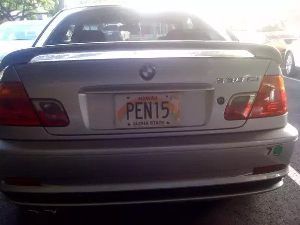 Funny License Plate Sayings