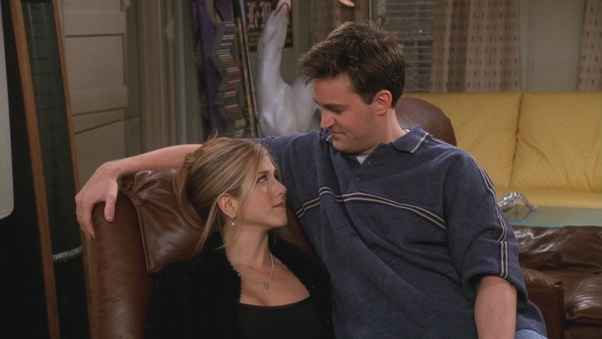 TOMMIE: Did chandler and rachel ever hook up