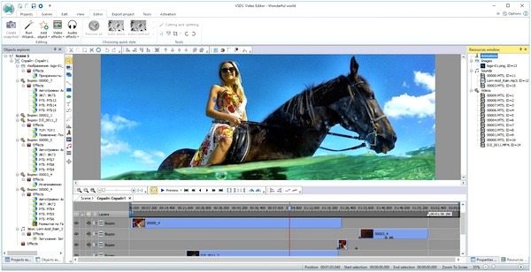 What is the best free video editor software with no trial version