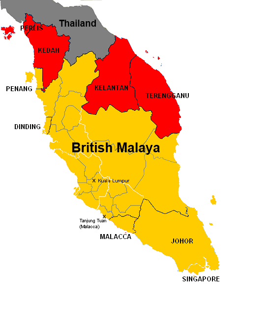 Malaysia On World Map Map: Why Doesn't Malaysia Invade Thailand?