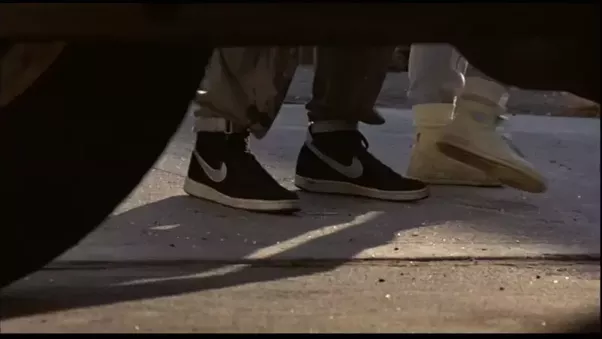 Now if Matheson could just get Nike to re-issue the Vandals... that would  be tops. Here's another SWEET shot of these bad boys.