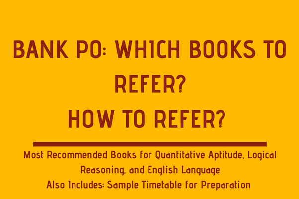 Which are the best books for the preparation of bank po quora answer wiki fandeluxe Image collections