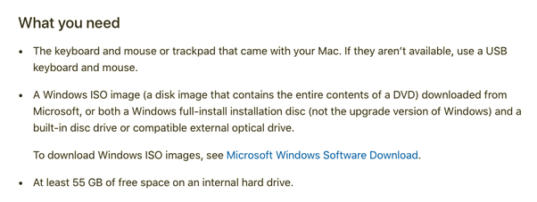 download windows 10 on mac using bootcamp