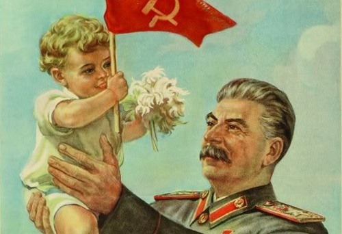 Stalin Controlled All The Propaganda And Loved His Cult Of Personality Competing Posters Did Not Exist If Someone Proposed One They Might Wind Up In
