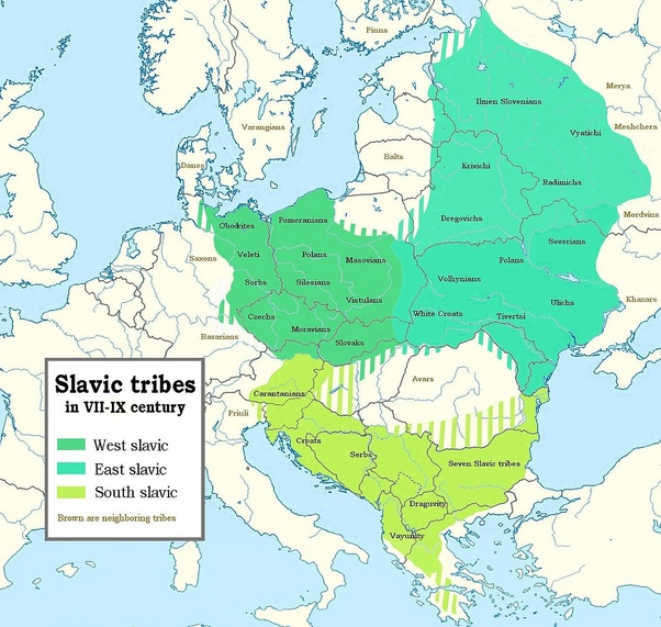 Are many East Germans descendants of the Slavic Wends? - Quora