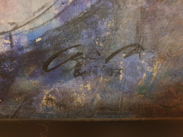 How Can One Identify The Signature On A Painting Quora
