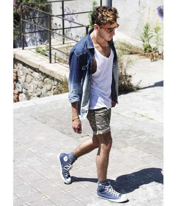 Arcaico Cita plan  How to match blue high converse for a guy? What are the best outfits and  colors - Quora