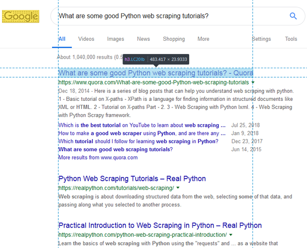 What are some good Python web scraping tutorials? - Quora