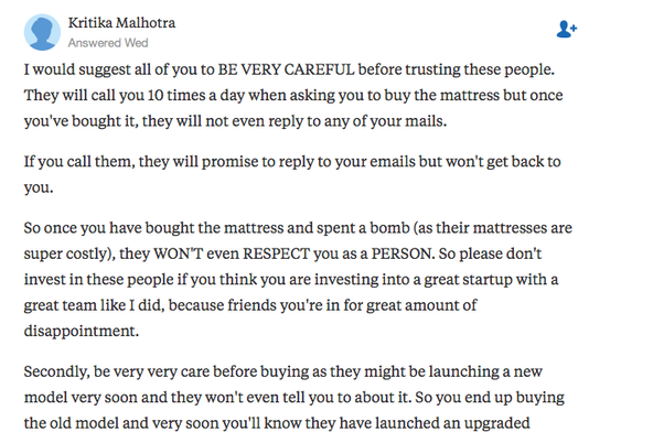 Is It True That Sunday Rest Mattresses Are Nothing But Hyped Quora - Create a invoice for free online mattress store