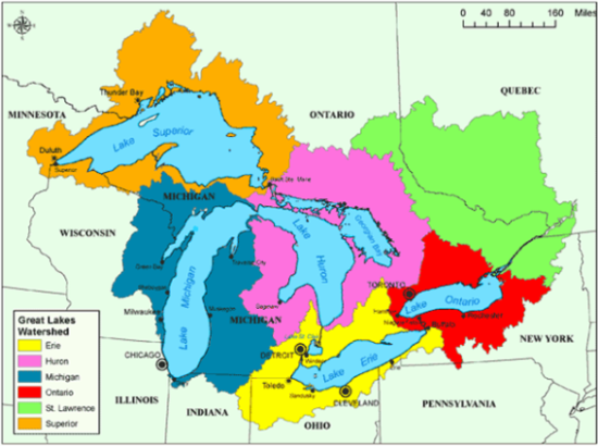 Are the Great Lakes fresh water lakes Quora
