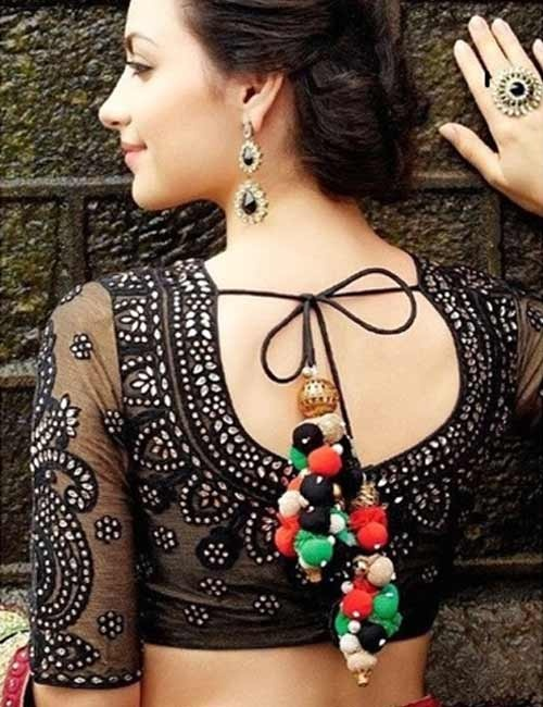What Are The Latest Blouse Designs In Net Quora