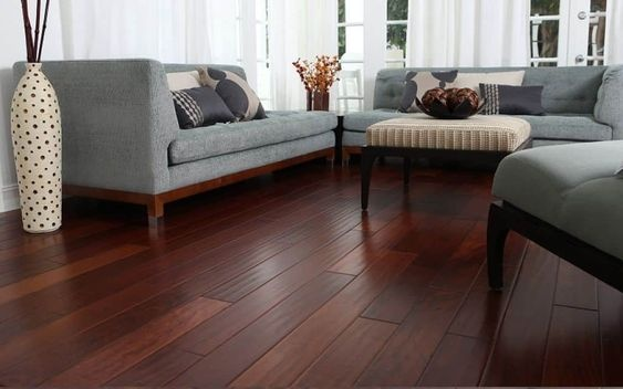 What Color Wood Flooring Goes Best With A Dark Grey Living