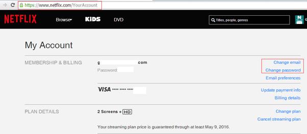 Netflix com forgot password