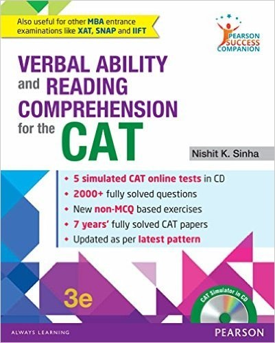 What are the section wise best books to prepare for cat quora verbal ability and reading comprehension for the cat by nishit sinha fandeluxe Image collections
