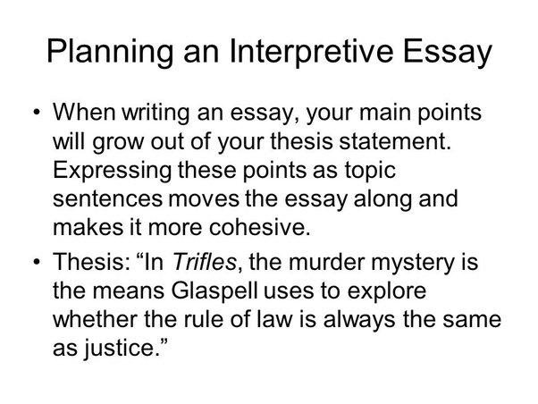 how to write an interpretive essay developing a thesis statement  how to write an interpretive essay developing a thesis statement writing  associates program swarthmore college